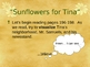 """""""Sunflowers for Tina"""" - Reading Comprehension - Open Court"""