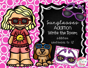 Sunglasses Addition Write the Room