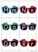 Sunglasses Alphabet Matching - Upper case and Lower case Match Activity