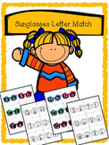 Sunglasses Alphabet Matching - Upper case and Lower case M