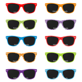 Sunglasses Clipart, Beach Clipart, Summer Clipart, 80's Su