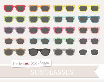 Sunglasses Clipart; Glasses, Eyewear