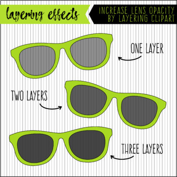 Sunglasses Clipart / Photo Overlays. 30 Colors. High Resolution. 300 dpi PNG.