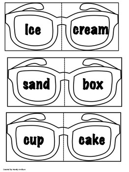 Sunglasses Compound Words