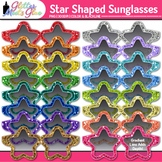 Star Sunglasses Clip Art: Summer Graphics {Glitter Meets Glue}
