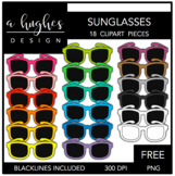 FREE Sunglasses Clipart {A Hughes Design}