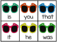 Sunglasses Fry's First 50 Sight Word Game