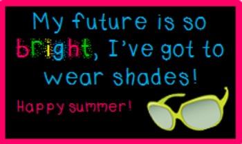 Sunglasses Gift Tag