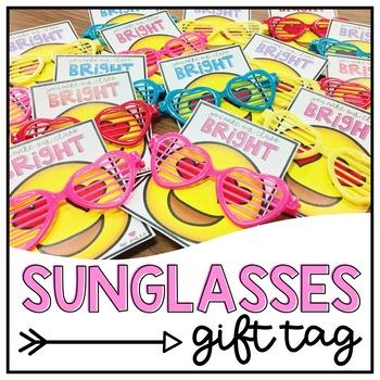 Sunglasses Gift Tags-Freebie!