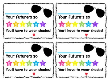 Sunglasses Gift Tag (editable!)