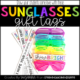 Sunglasses Gift Tags