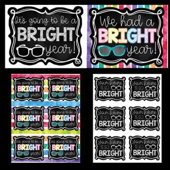 Sunglasses Gift Tags & Photo Props