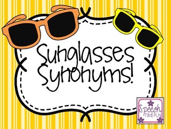 Sunglasses Synonyms