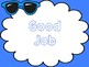 Sunglasses Themed Behavior Chart