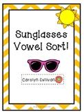 Sunglasses Vowel Sort Freebie