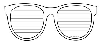 image regarding Printable Sunglasses referred to as Sungles Crafting Template Worksheets Schooling Products
