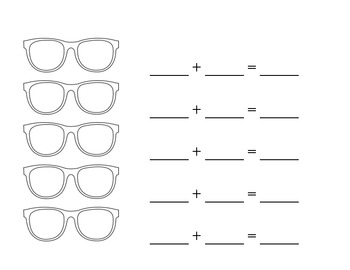 Sunglasses and Sums BLANK