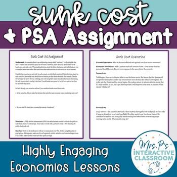 Sunk Cost Scenarios & PSA-Inspired Economics Mini Project
