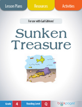 Sunken Treasure Lesson Plans & Activities Package, Fourth