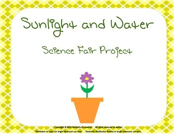 Sunlight and Water Science Fair Project