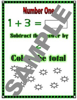 Sunny Addition and Subtraction