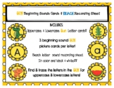 Sunny Beginning Sounds and Letter Activities
