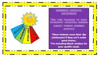 Sunny Behavior Tracker