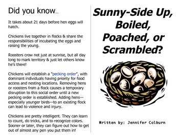 Sunny, Boiled, Poached, or Scrambled LONG DIVISION