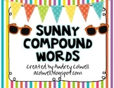 Sunny Compound Words Matching Game