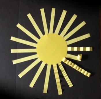 """Sunny Day - An """"Easy-art"""" Craftivity"""