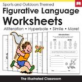 Figurative Language Worksheets - Sports Themed