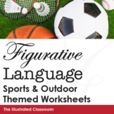 Figurative Language Worksheets - Sports Themed