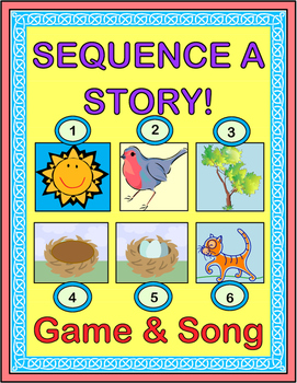 """Sunny Day!"" -- Sequence a Story with a 'Whole-Body' Game and Song"