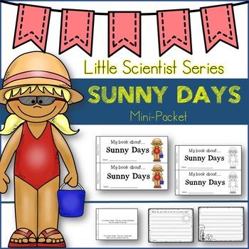 Sunny Days-Emergent Reader/Graphic Organizers