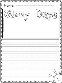 Sunny Days: Craft & Writing