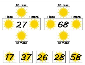 Sunny Days Hundred Chart Ways