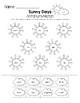 Sunny Days - Synonym and Antonym Grammar Pack