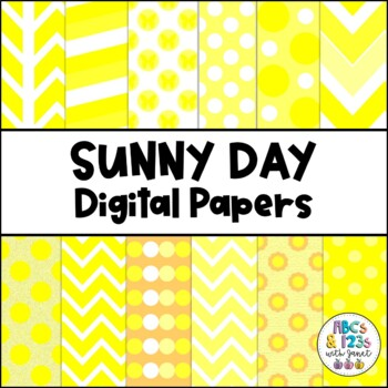 Sunny Digital Paper Pack