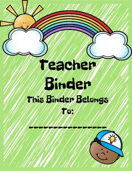 Sunny Kids Ultimate Teacher Binder