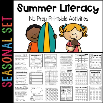 Sunny Literacy Pack