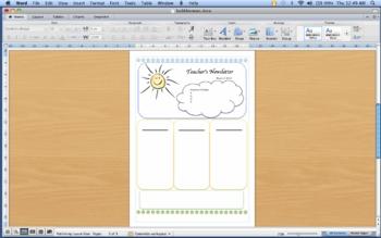 Sunny Newsletter template