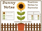 Sunny Notes (Positive Notes to Parents)