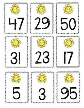 Sunny Numbers Sort