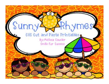 Sunny Rhymes {CVC Cut & Pastes}