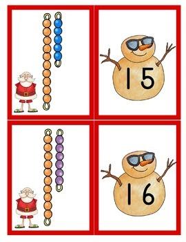 Sunny Santa Math and Literacy Pack