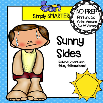 NO PREP Weather Themed Flat Shape Roll and Cover Game