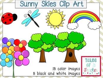 Sunny Skies Clip Art