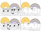 Sunny Skies Melody Matching--A stick to staff notation game {sol mi}