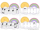 Sunny Skies Melody Matching--A stick to staff notation game {sol mi la}