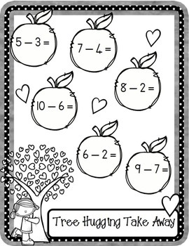 Sunny Subtraction Print n Go Worksheets